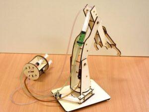 lesena-igraca-za-fante-in-dekleta-hidravlična-robotska-roka-kit-verzija-hidravlika-mehanika