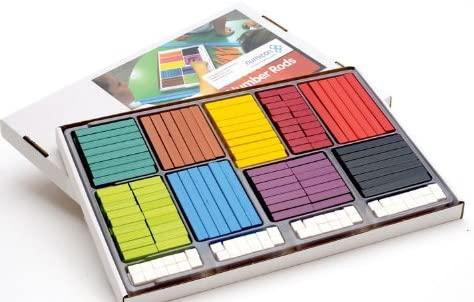 Cuisenairove palčke - igrače Montessori didaktike