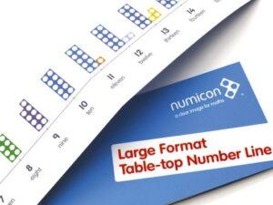 številska premica numicon 1-21